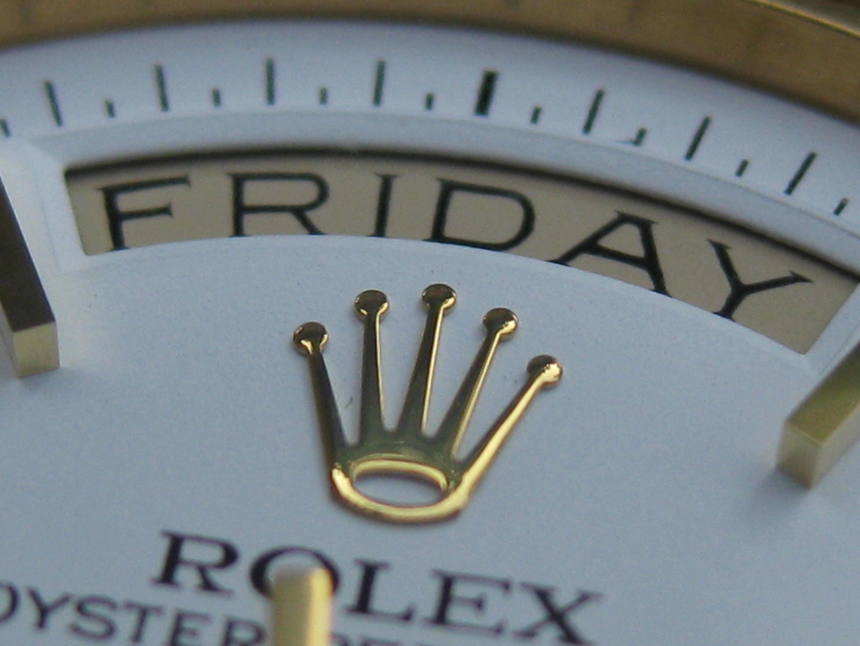 Warum Rolex?