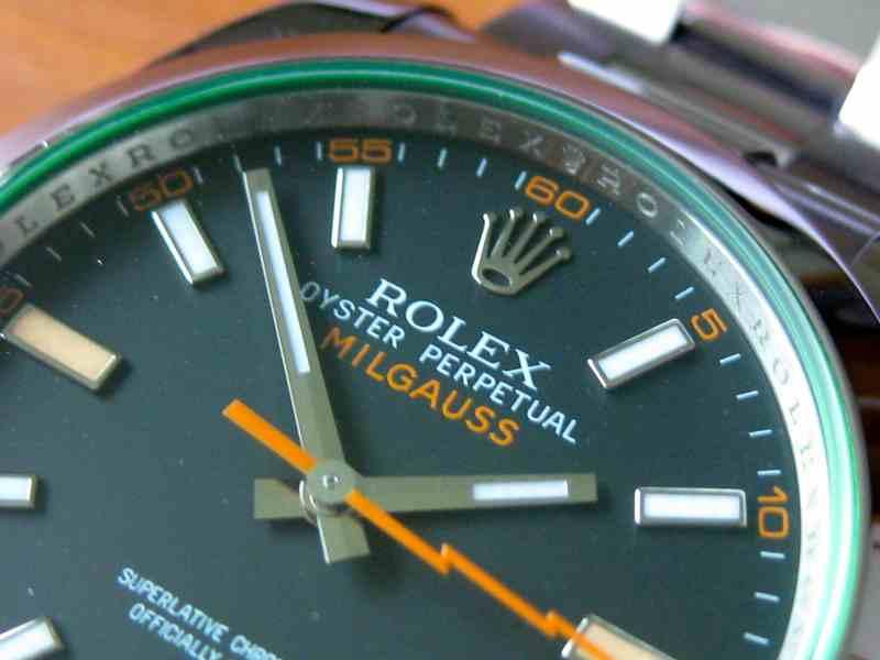 Rolex Milgauss Referenz 116400 GV