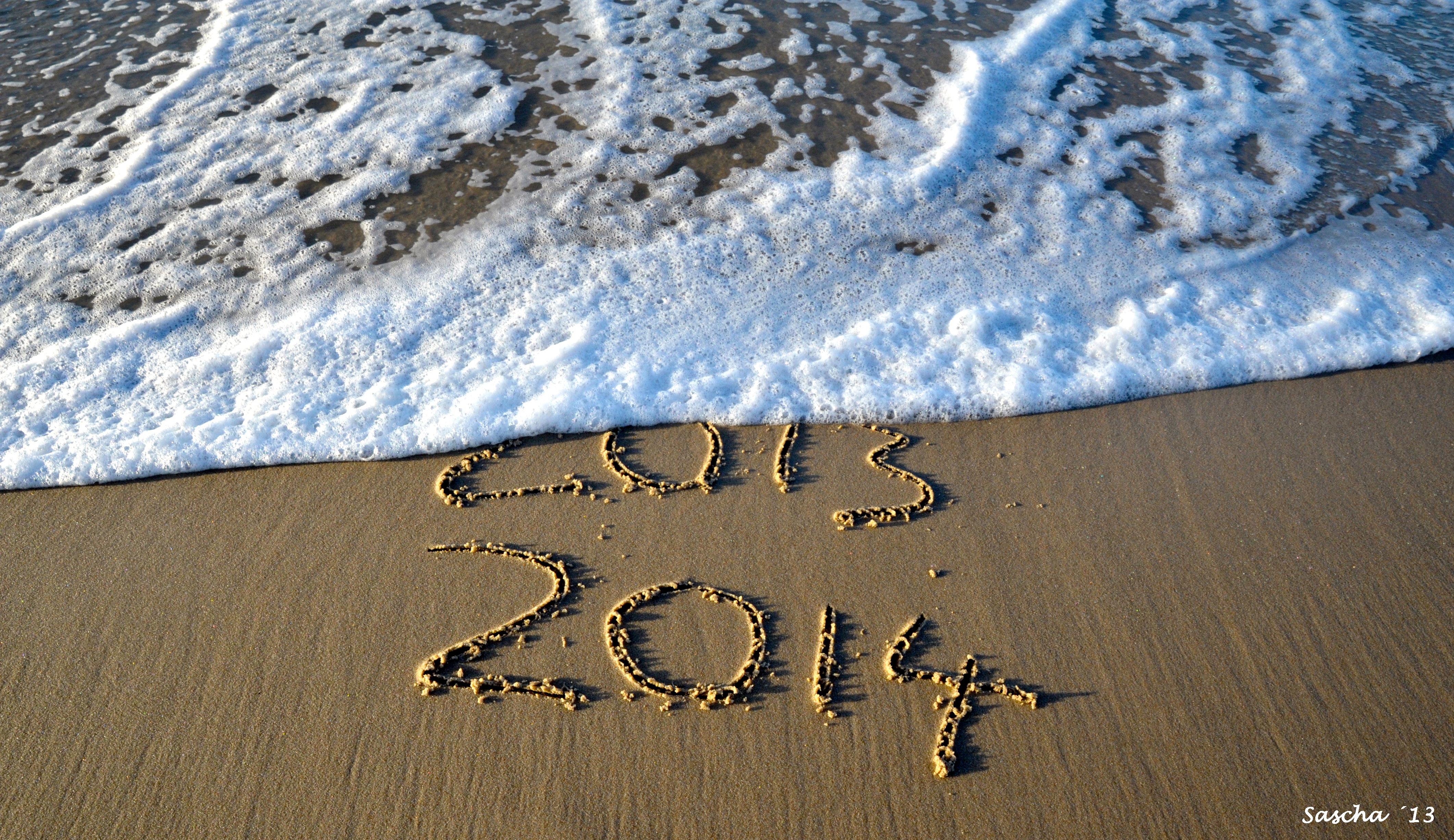 Einen guten Rutsch in das neue Jahr 2014!