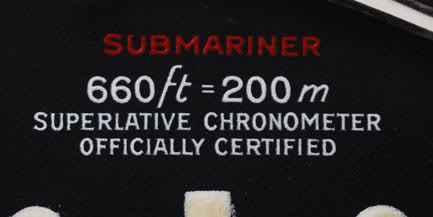 Die Zifferblattvarianten der Rolex Red Sub