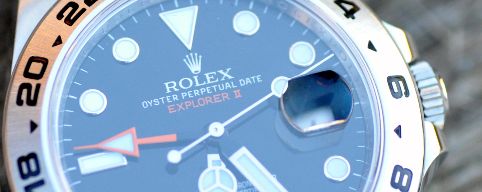 Die Rolex Explorer II – Nicht nur für Vielflieger
