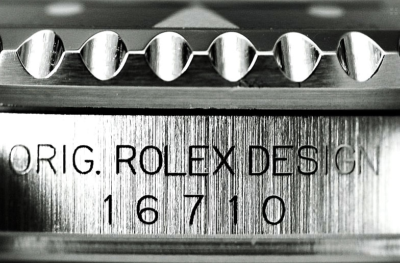 Die Rolex GMT Master II Ref. 16710