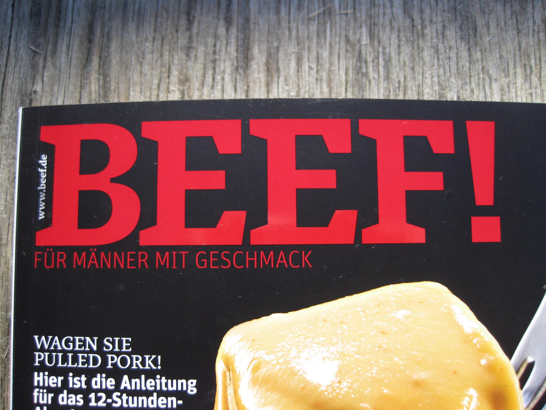 BEEF! – Kochen für Männer