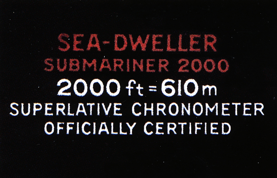 Die Rolex Sea Dweller Double Red