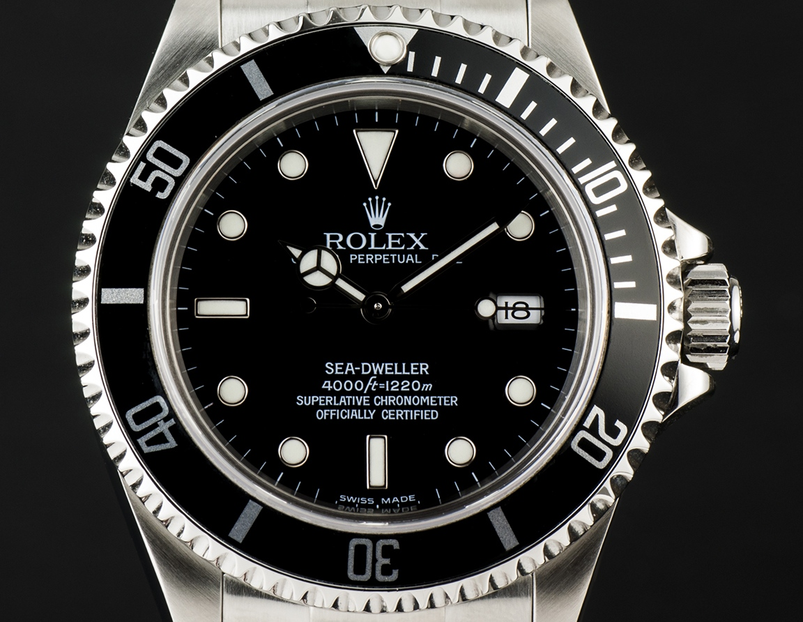 Die Rolex Sea Dweller Ref. 16600