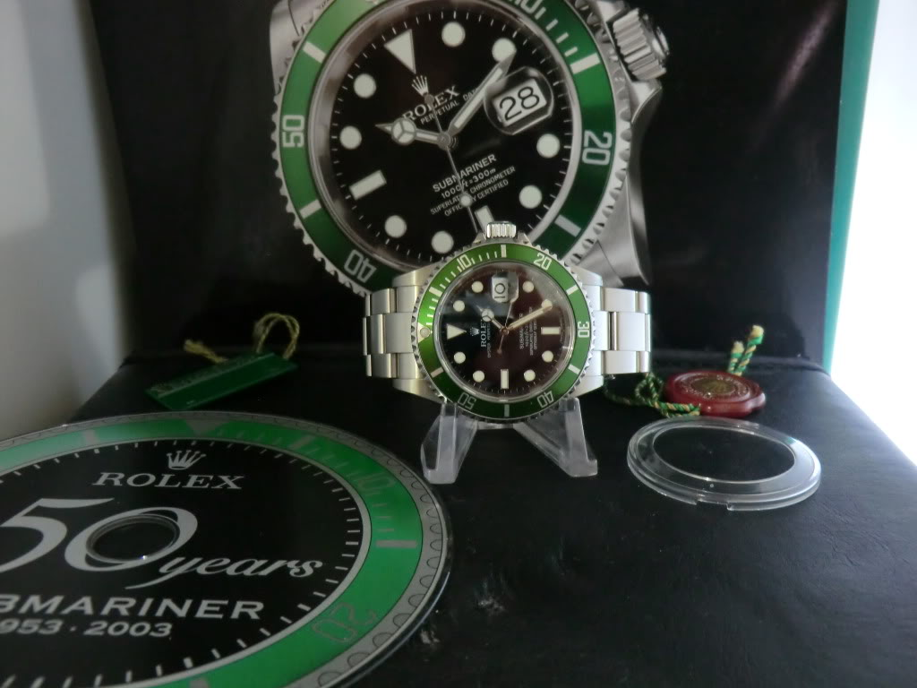Die Rolex Submariner 16610 LV
