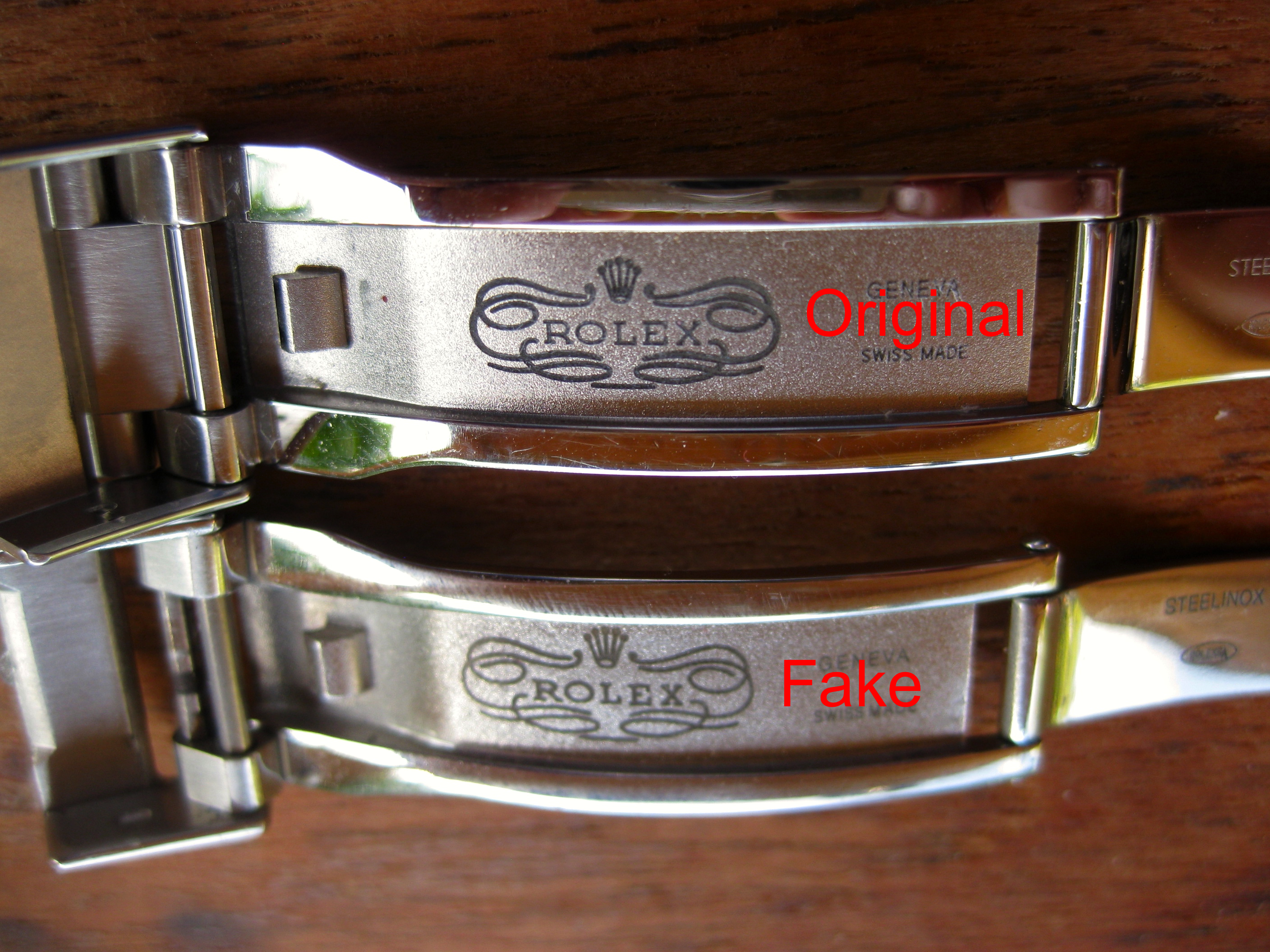 Rolex Glidelock – Original vs. Fake