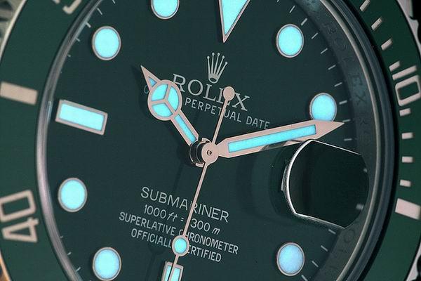 Rolex Submariner 116610 LN – Blattvarianten