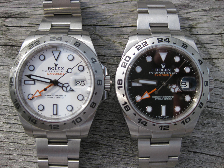 Schwarz / Weiß – die Explorer II Zwillinge