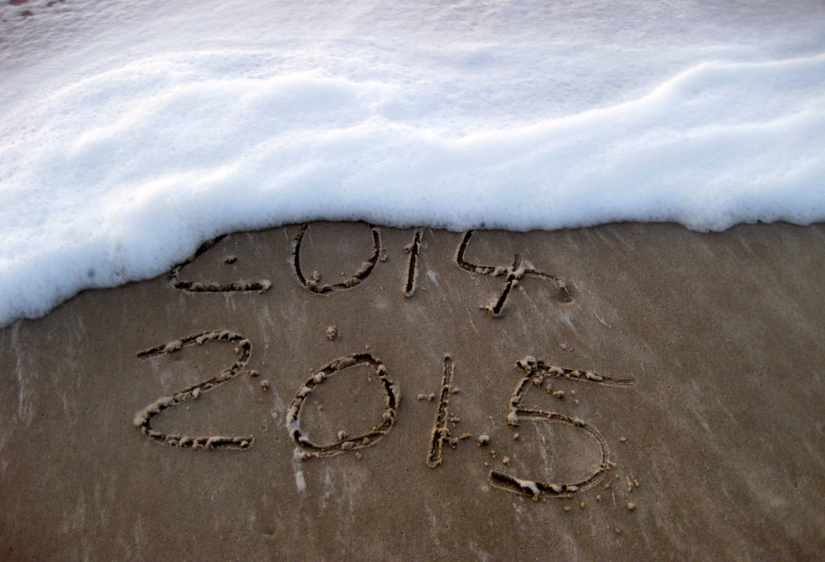 Einen guten Rutsch ins neue Jahr 2015!