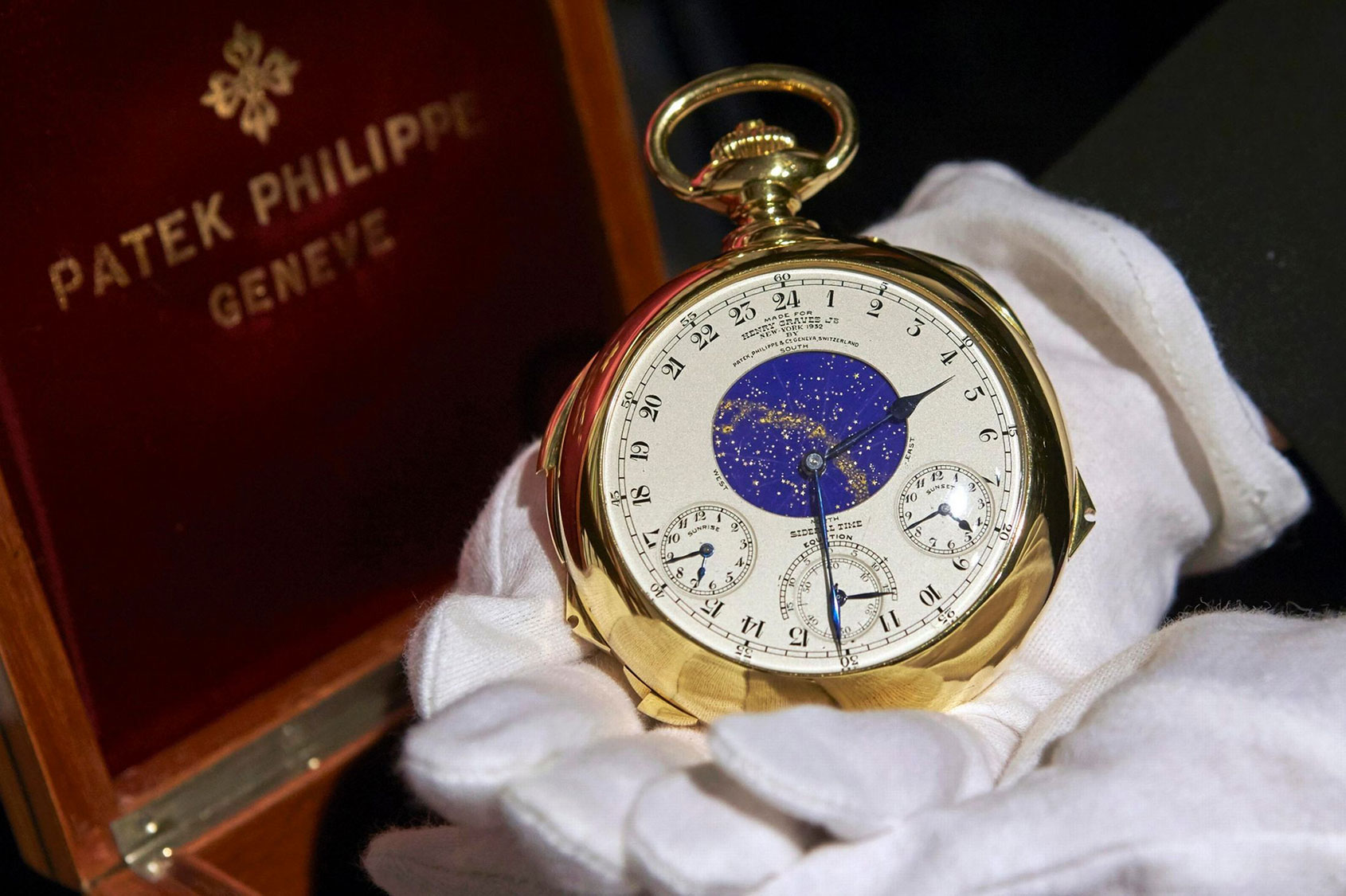 Die Graves Supercomplication von Patek Philippe