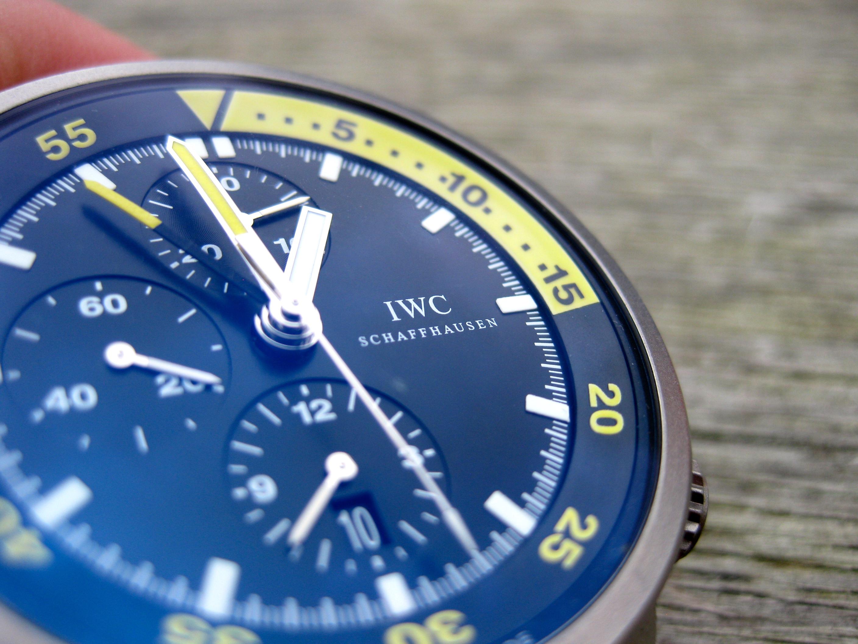 Die IWC Aquatimer Split Minute- der ewige Taucher