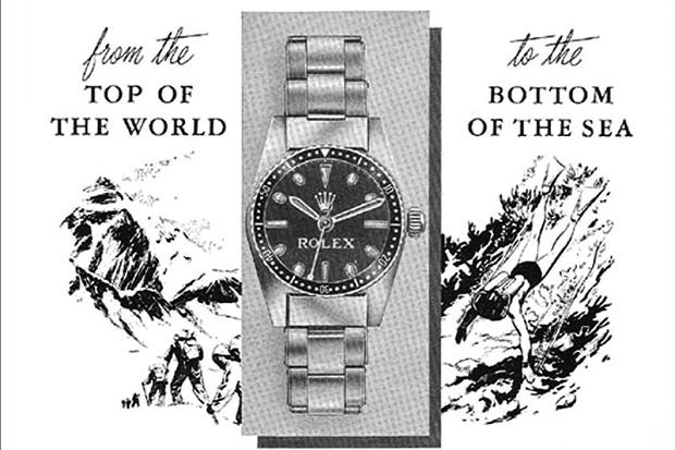 Rolex Advertising – Teil 1