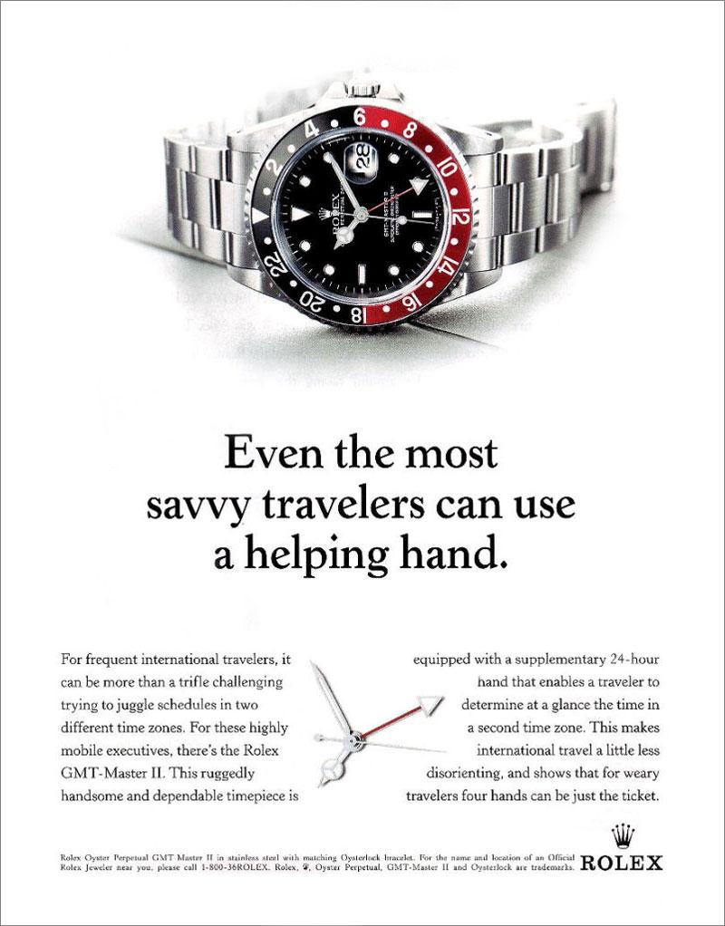 Rolex Advertising – Teil 2