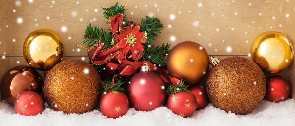Ein frohes, besinnliches und friedvolles Weihnachtsfest!