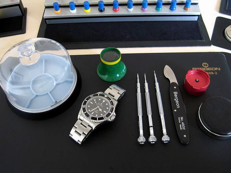 Manons Art der Aufbereitung einer Rolex Submariner