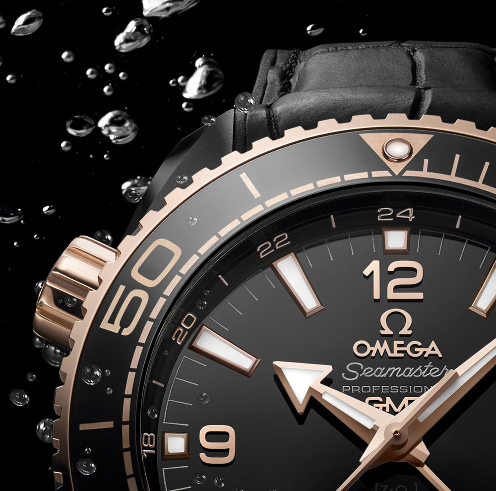 Die Omega Planet Ocean Deep Black