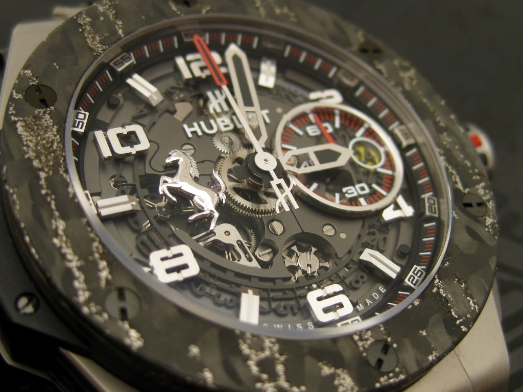 Hublot Big Bang Ferrari – Close Up
