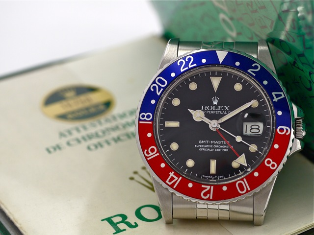 Die Rolex GMT-Master – into the details
