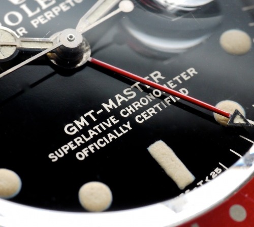 Die Rolex GMT-Master Ref. 1675 – into the details