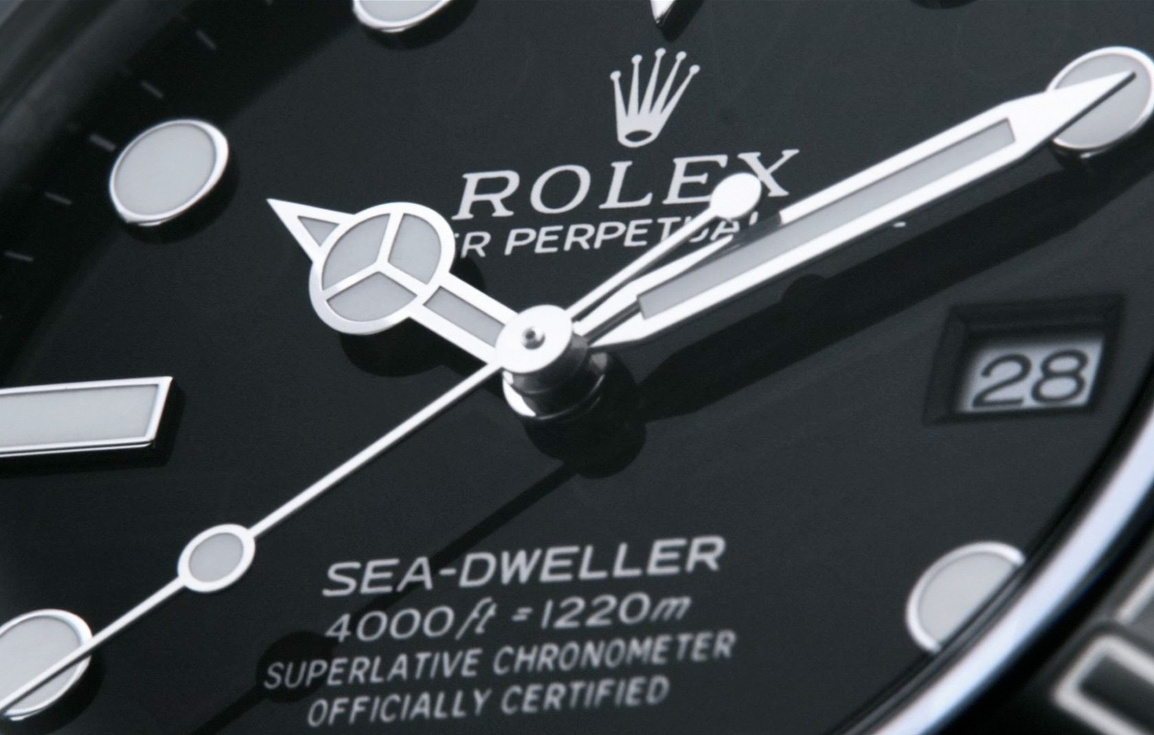 Die Rolex Sea Dweller – into the details