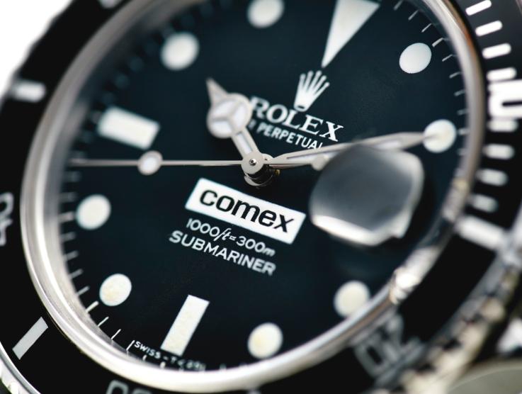 Rolex Comex – into the details
