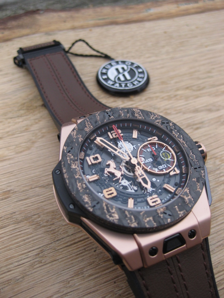 Die Hublot Big Bang Ferrari King Gold Carbon