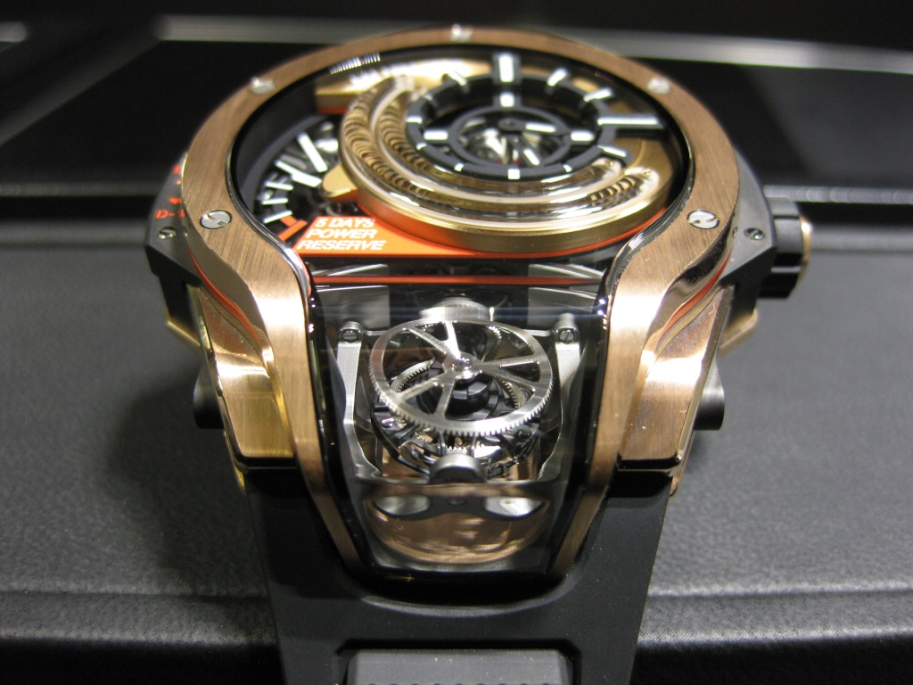 Hublot MP-09 Bi-Axis Tourbillon