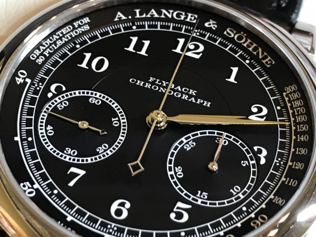 A. Lange & Söhne – 1815 Chronograph Schwarz-Weiß