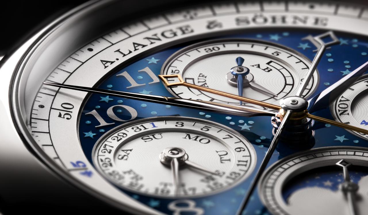 A. Lange & Söhne – 1815 Chronograph Rattrapante Ewiger Kalender Handwerkskunst