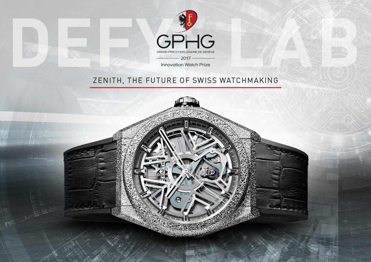 Grand Prix d´Horlogerie de Genéve – Innovationspreis für Zenith