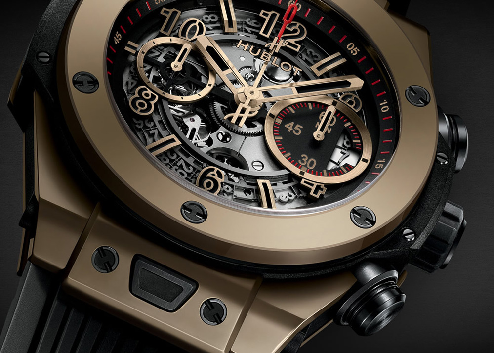 Hublot – die Magic Gold Timeline