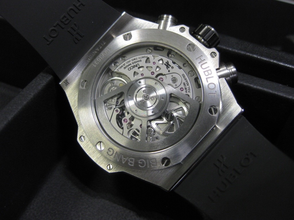 Hublot Unico 2 – inside the HUB 1280