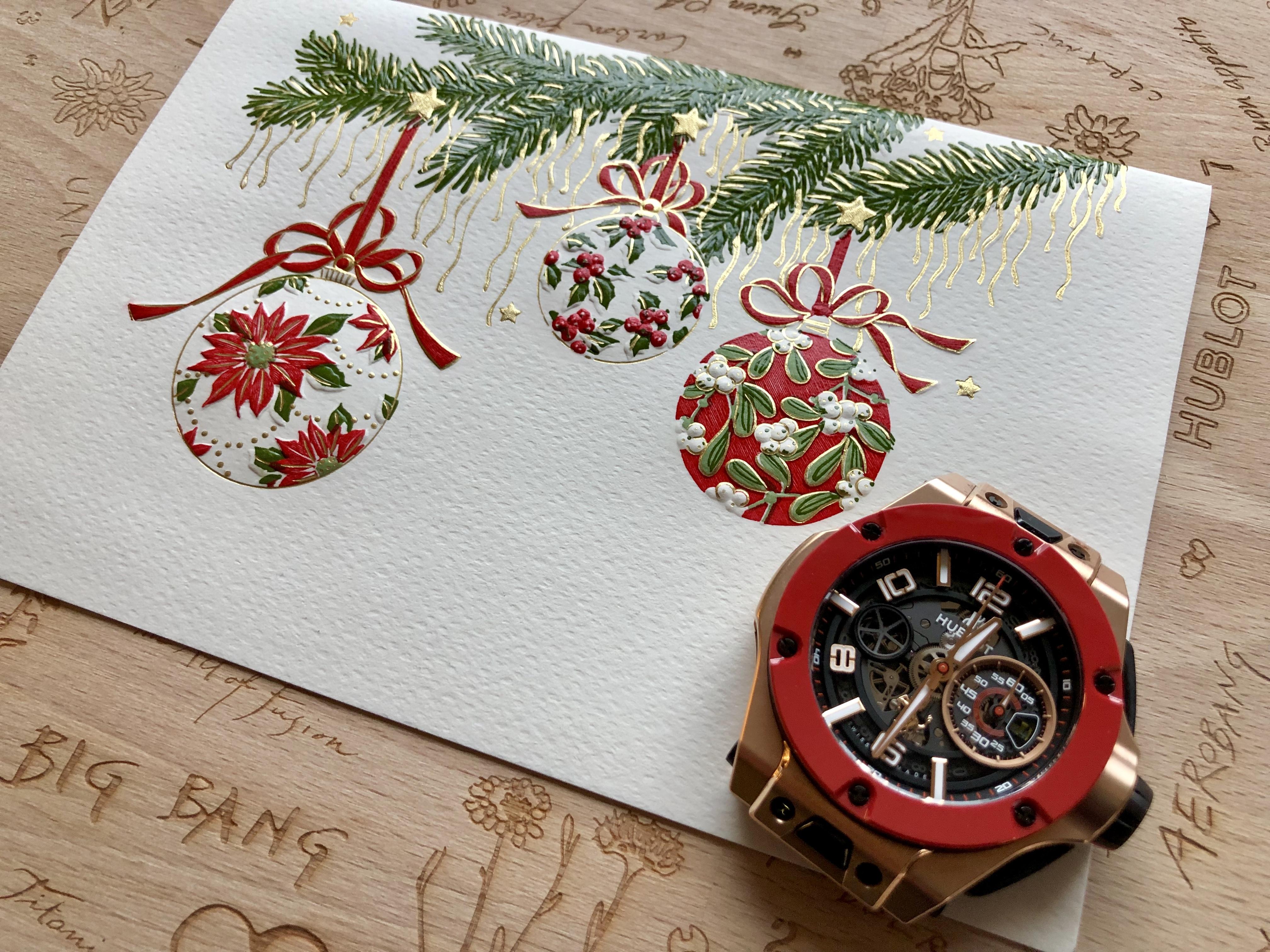 Ein frohes und gesegnetes Weihnachtsfest!